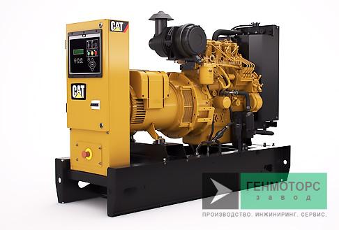 Дизельный генератор (электростанция) Caterpillar DE9.5E3