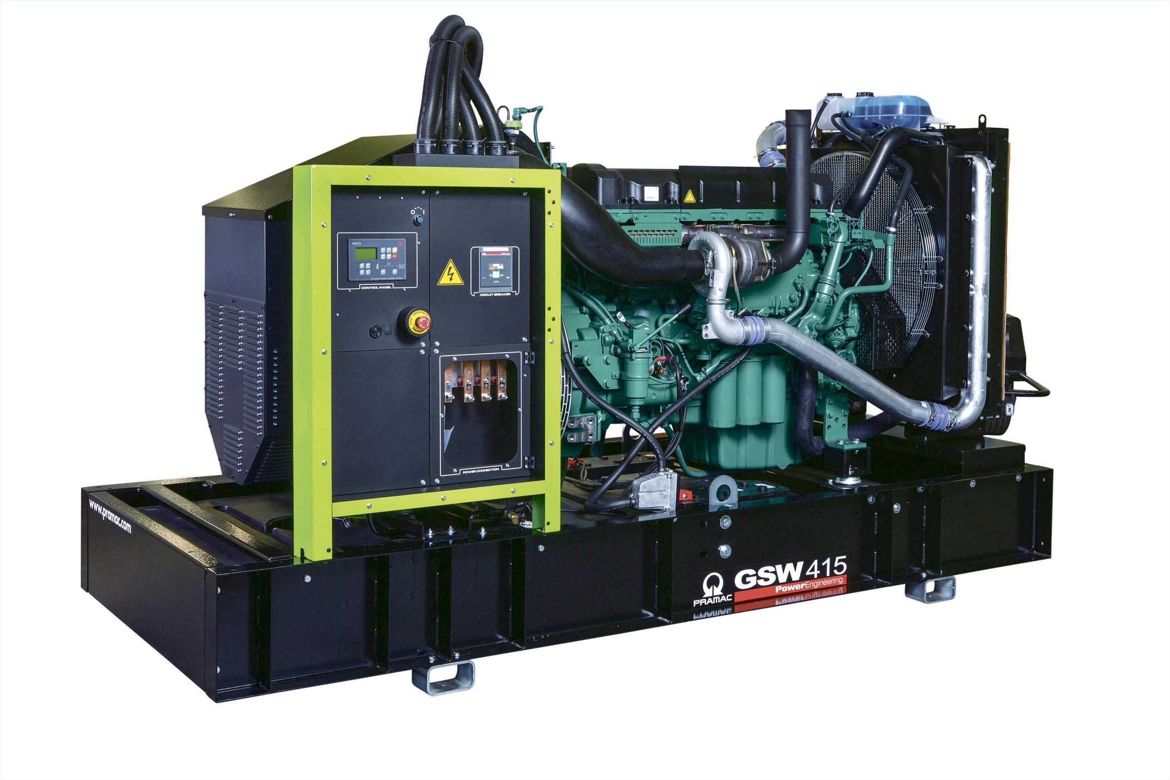 Дизельный генератор (электростанция) Pramac GSW415V