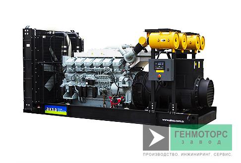 Дизельный генератор (электростанция) AKSA APD880M