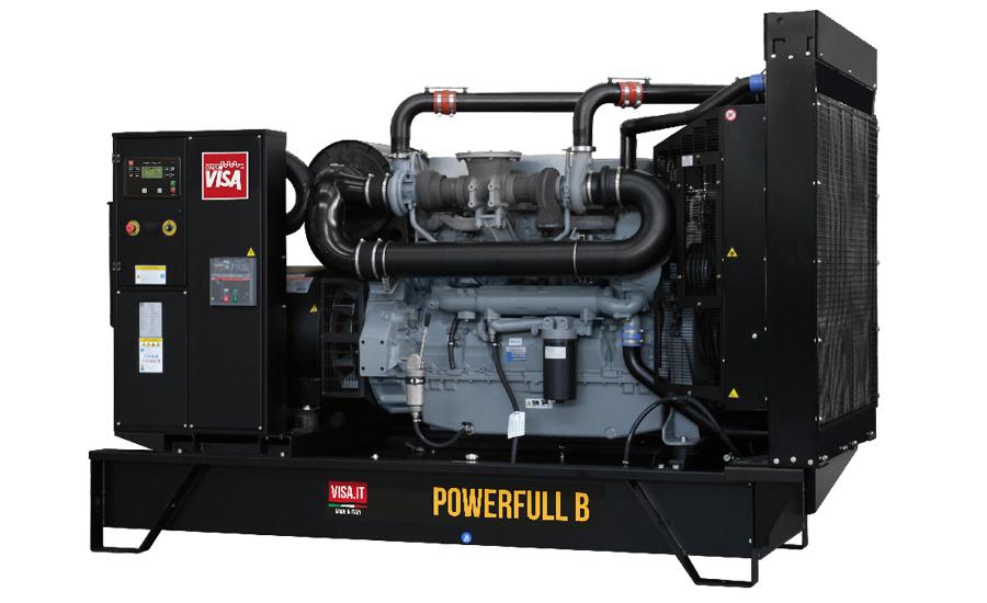 Дизельный генератор (электростанция) Onis Visa V380
