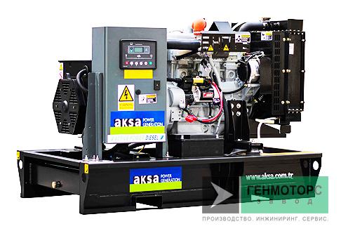 Дизельный генератор (электростанция) AKSA APD33A