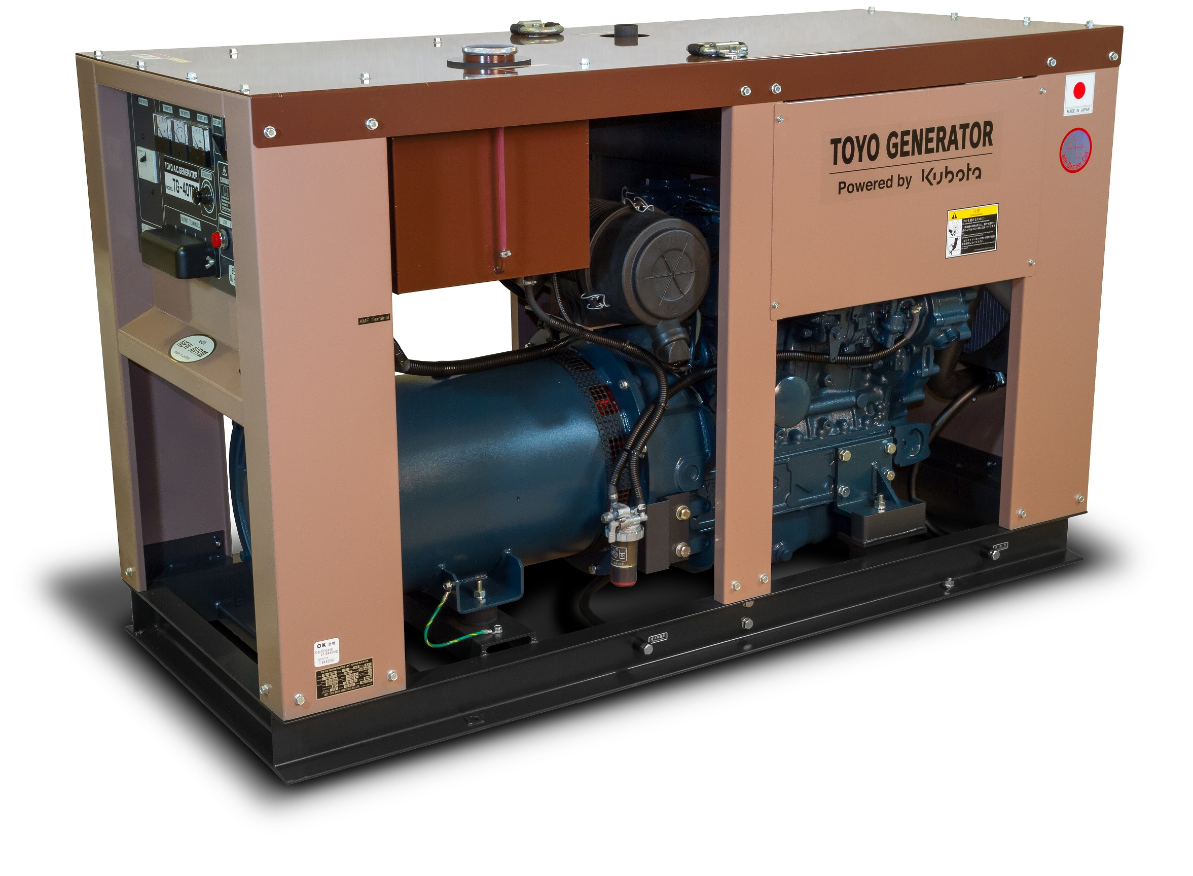 Дизельный генератор (электростанция) TOYO TG-30SPC