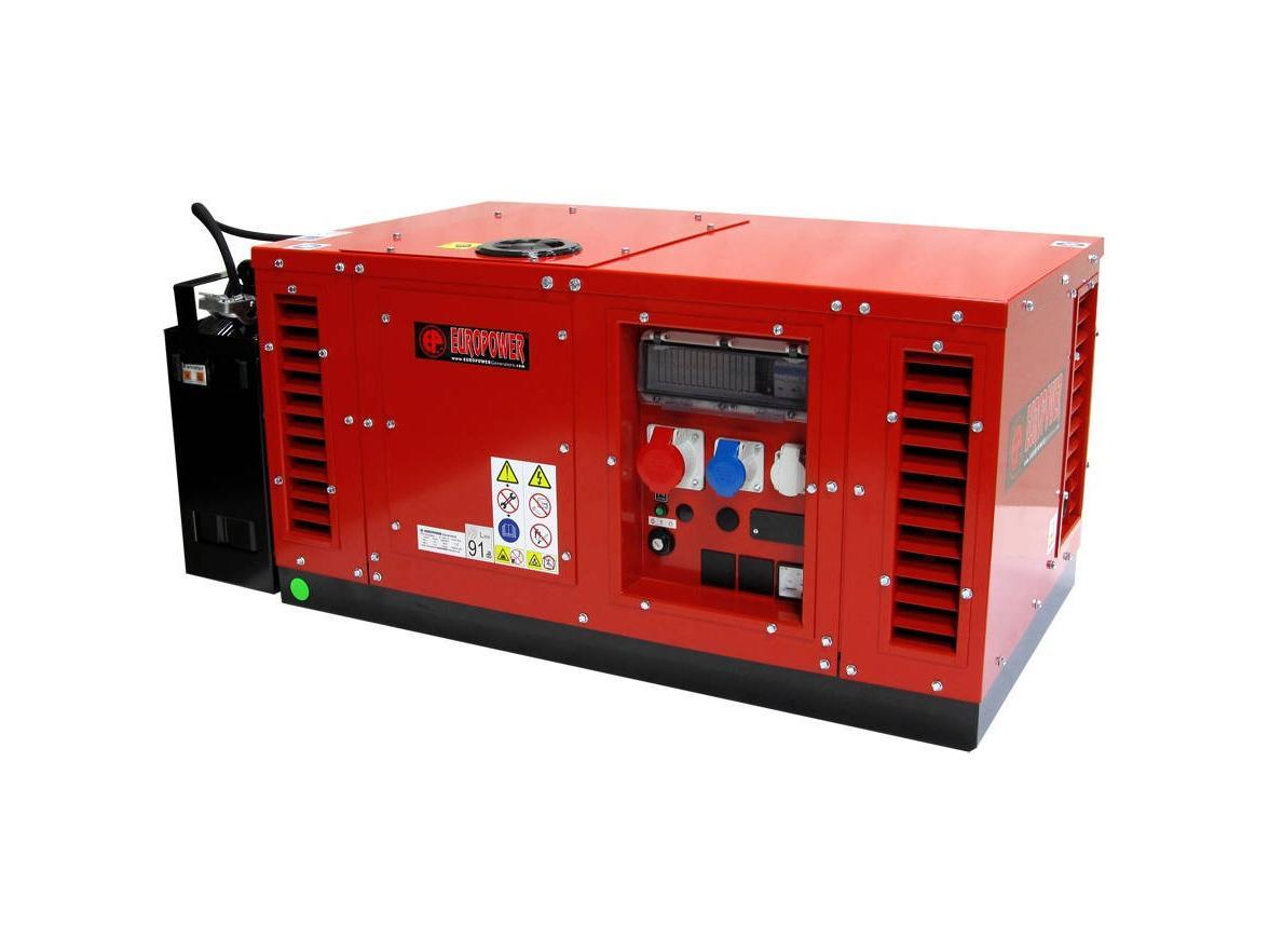 Бензиновый генератор (Бензогенератор) Europower EPS 12000 TE