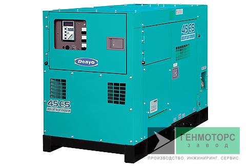 Дизельный генератор (электростанция) DENYO DCA-45ESI