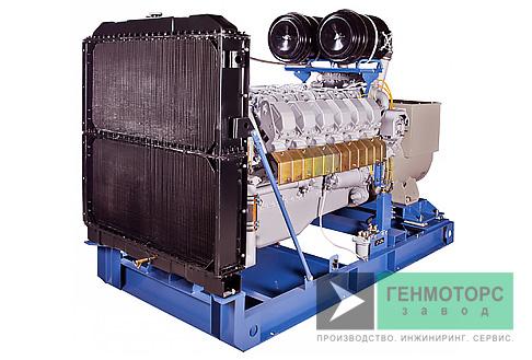 Дизельный генератор (электростанция) АД-320 ЯМЗ