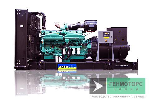 Дизельный генератор (электростанция) AKSA AC1100