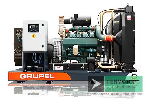 Дизельный генератор (электростанция) G743DSGR Grupel