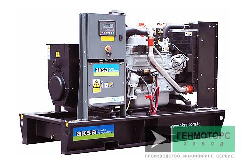 Дизельный генератор (электростанция) AKSA APD150A