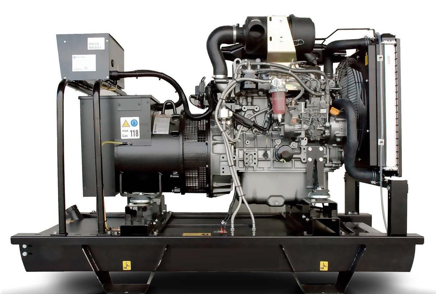 Дизельный генератор (электростанция) Energo ED 35/400 Y