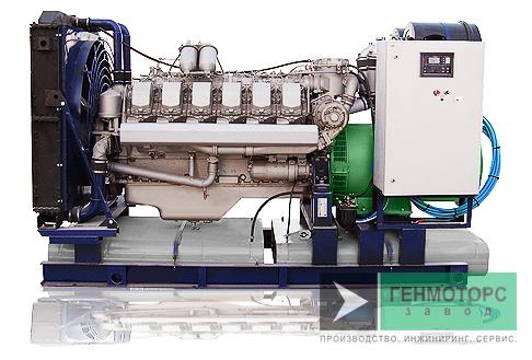 Дизельный генератор (электростанция) АД-315 ЯМЗ-240НМ2