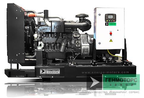Дизельный генератор (электростанция) АД-200 IVECO